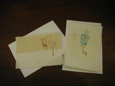 KIKUREのクリスマスカードが入荷しました!