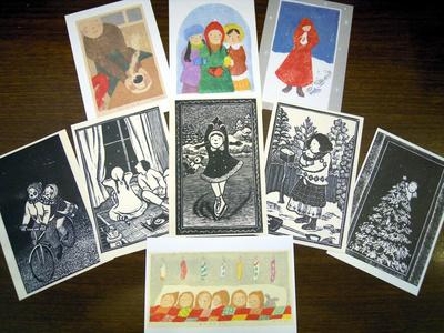 古知屋恵子さんのポストカードが入荷しています。