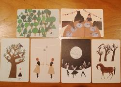 西淑さんのポストカードを入荷しました。