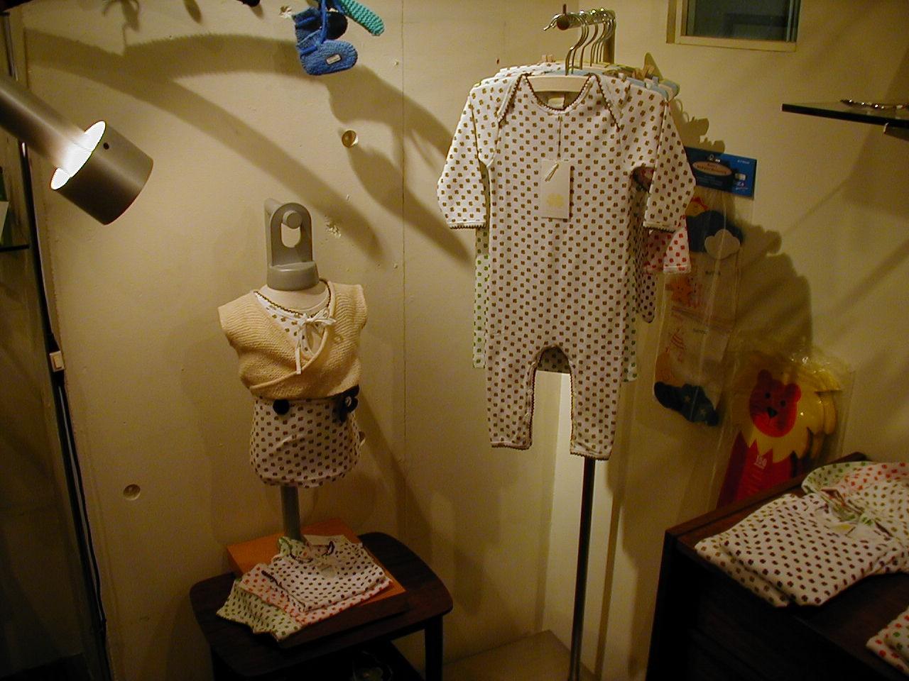 NESTにデンマークの子供服